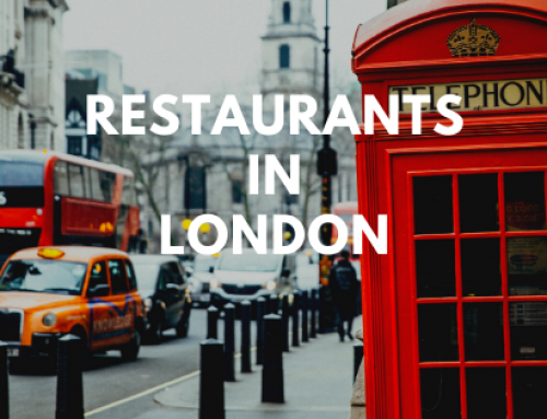 Restaurant guide for the city of London